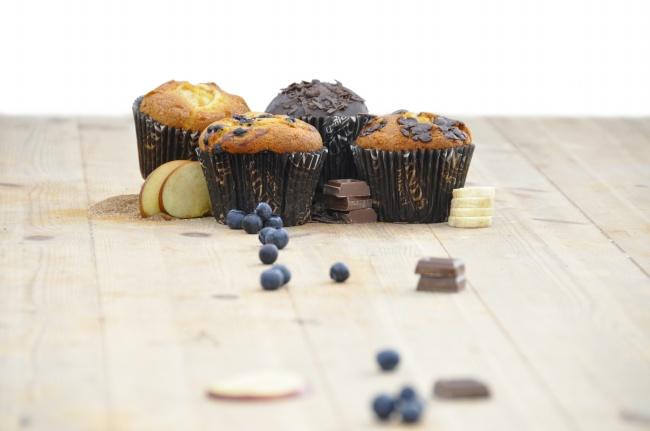 松饼杯子小蛋糕精美图片