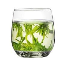 一杯龙井绿茶分层素材