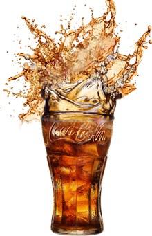 可口可乐psd分层素材