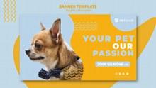 宠物商店banner海报设计psd素材