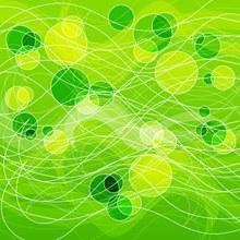 绿色圆形背景矢量下载
