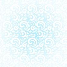 白色花纹图案背景矢量图