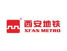 西安地铁logo标志图矢量图